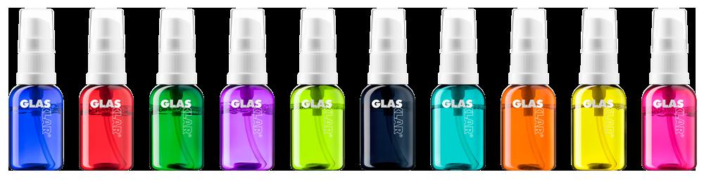glasklar brillenspray